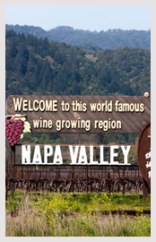Napa Valley wine country map free