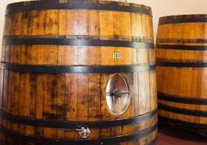 DeLoach Vineyards french open top barrels