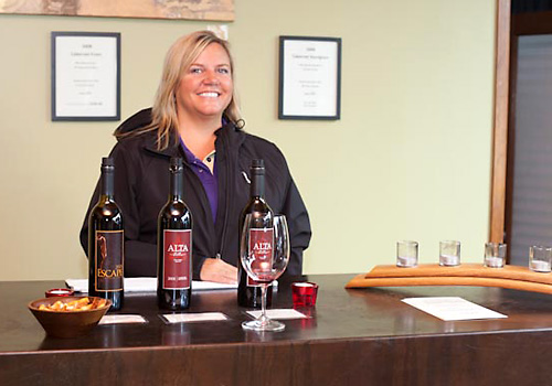 Karen Wagner, owner of Alta Cellars