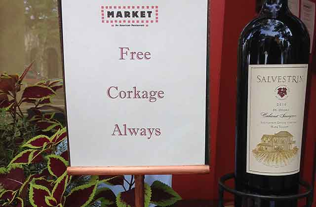 restaurant corkage fees