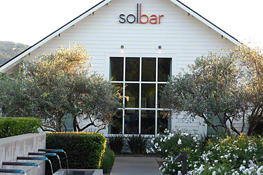 The Solbar restaurant at Solage Resort