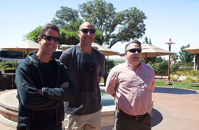 Paso Robles winemaker meet at the Vina Robles winery for a seminar describing AVA's in Paso Robles