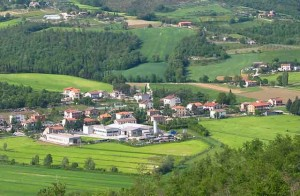 Umbertide is a tiny town down the hill from Calbaccia