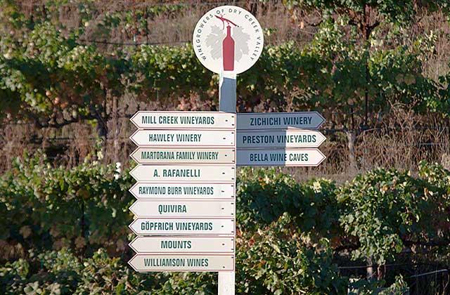 west dry creek wineries