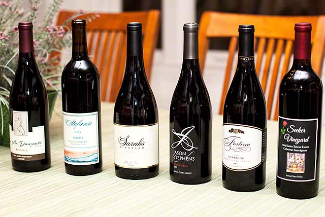 Wines from Santa Clara Valley