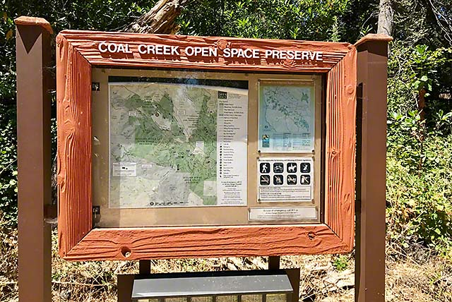 Coal Creek Preserve trailhead